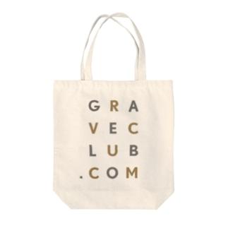 GRAVE-CLUB.COM Tote bags