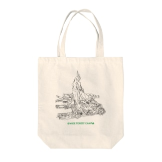 @WIDE FOREST CAMP▲TT Tote bags