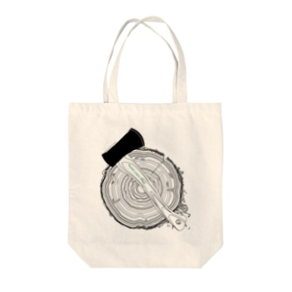 @ASANOMAKOTOの@WIDE FOREST CAMP▲TT2 Tote bags