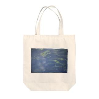 green-1 Tote bags