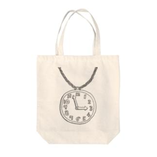 ぶりきのとけい Tote bags