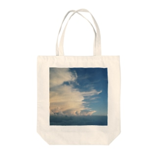 山で見た夏雲 Tote bags