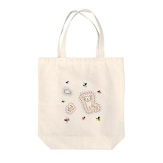 落書き①(猫ちゃんのお昼間) Tote bags