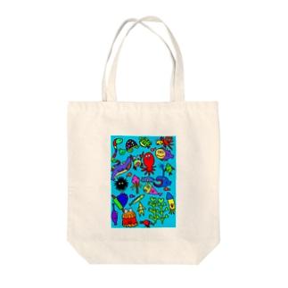 海 Tote bags