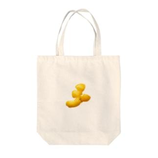 助けたカラスが御礼に持ってきたみかんの皮 Tote bags
