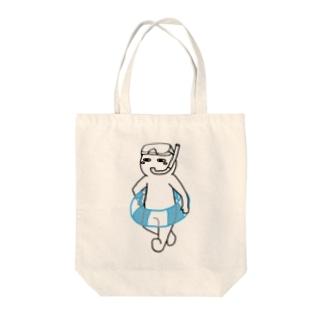 思う屋の夏は嫌いだ(文字無し) Tote bags