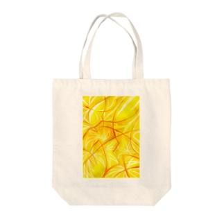 Suerei_syの黄色蹴鞠と赤い糸 Tote bags