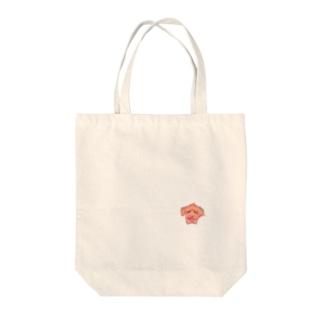 トイプードルスマイル Tote bags