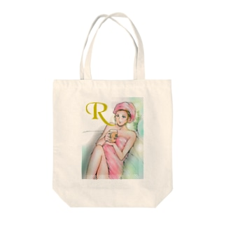 北欧から来た少女02 Tote bags