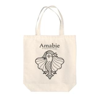 Amabie Tote bags