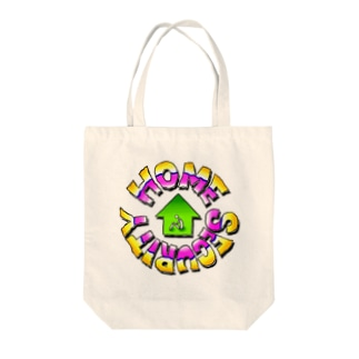 ホームセキュリティ Tote bags