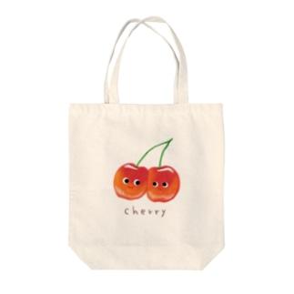 ちぇりーず Tote bags