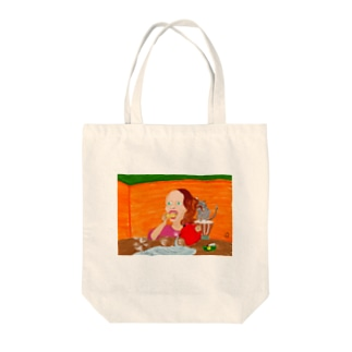 I can't wait. Tote bags