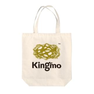 Kingmo ロゴマーク Tote bags