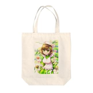 お茶の娘 瑞草園 Tote bags