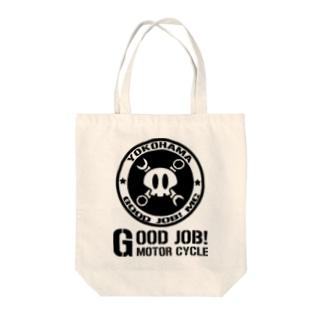 グッジョブ!ロゴA Tote bags