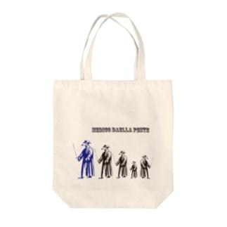 ペストマスクシンドローム Tote bags