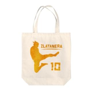 ZURATANERA スウェーデンのサッカーの神様偶像  Tote bags