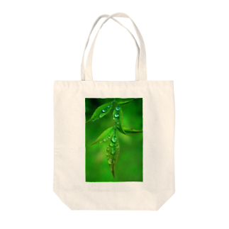M.F.Photoの葉としずくトートバッグ