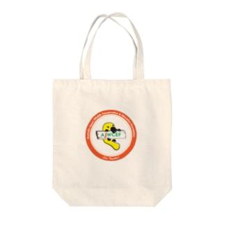 【チャリティ】 AJWCEFオリジナル カモノハシトートバッグ オレンジ Tote bags