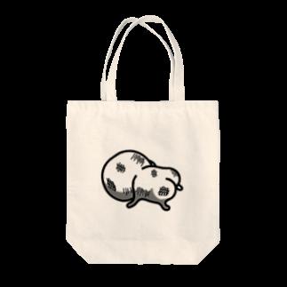 mame&coのまるいののトートバック(フルボッコ) Tote bags