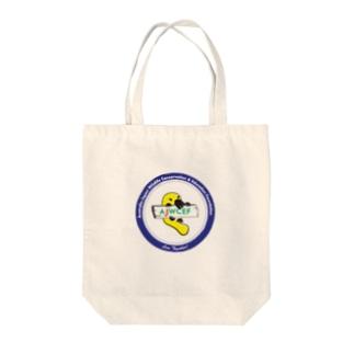 【チャリティ】 AJWCEFオリジナル カモノハシトートバッグ 青 Tote bags