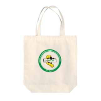 【チャリティ】 AJWCEFオリジナル カモノハシトートバッグ 緑 Tote bags