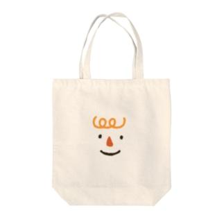 くるくるパーマ Tote bags