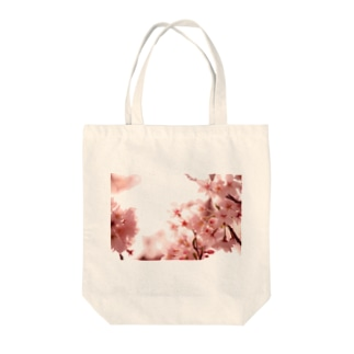 M.F.Photoの薄桜 Tote bags