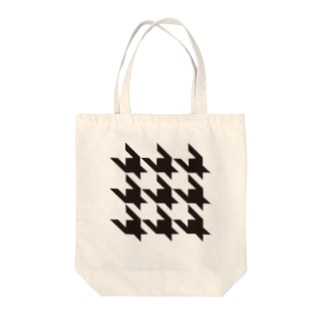Houndtooth 2 Tote bags
