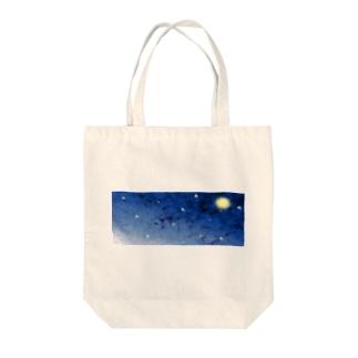 ミルキー宇宙 Tote bags