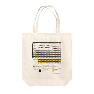 【学習シリーズ】周期表(Kawaii♥) Tote bags