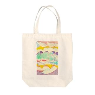 HARUTA_MISAKIの暑い日 Tote bags