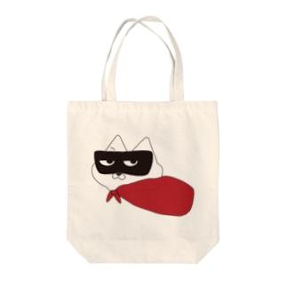 マスク・ド・ニャンコ Tote bags