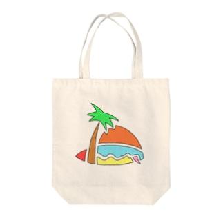 SHIBU屋 〜竹馬ロメ〜の夏!海!太陽! Tote bags