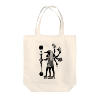 planetNITのアヌビエ-Extended Tote bags