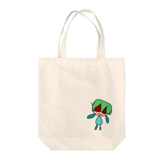 へいわマン Tote bags