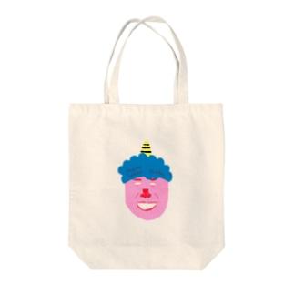オニスケ Tote bags