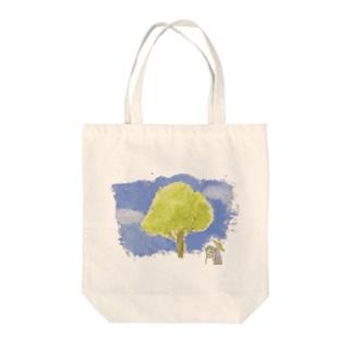 kinako_3の画家さん Tote bags