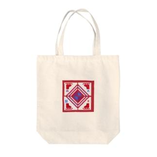 刺繍図案ヴィクトル&勇利 Tote bags