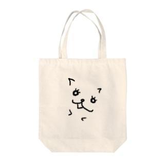 メスネコ Tote bags