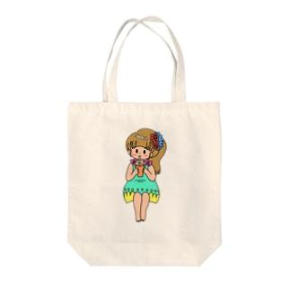 いしもとういのトロピカル Tote bags