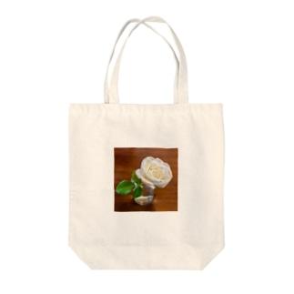 薔薇ラビリンス Tote bags