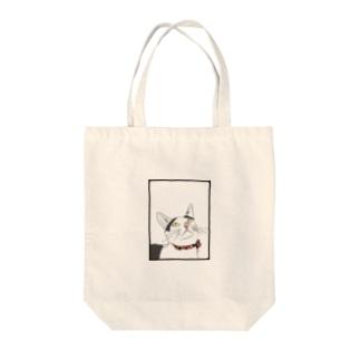 リアルあけみ Tote bags