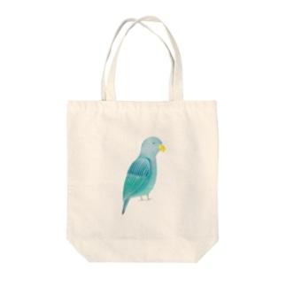 ねむけ鳥くん Tote bags