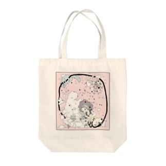 星泡猫 Tote bags