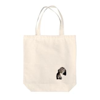 かっちょいいキリンさんバッグ Tote bags