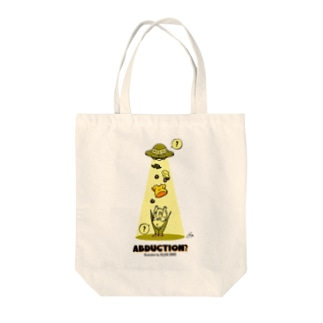 The World of YELLOW JUNKIEのYELLOW JUNKIE 「アブダクション?」 Tote bags