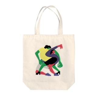 KARAMU_B Tote bags