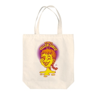 The World of YELLOW JUNKIEのYELLOW JUNKIE 「すきっ歯ガール」 Tote bags